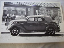 1937 FORD  CONVERTIBLE SEDAN TOP UP  12 X 18 LARGE PICTURE  PHOTO