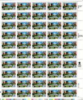 ORLEY US STAMPS # 2561  DISTRICT OF COLUMBIA BICENTENNIAL FULL SHEET  MNH/OG,