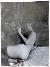 Irina Ionesco - Solarisation Vivianne - Epreuve argentique 1970 -
