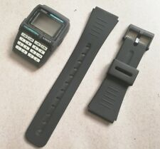 new casio dbc-63 databank lcd watch original black color case and band strap