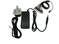 AC 110-240V TO DC 12V 5A POWER SUPPLY ADAPTER CHARGER UK PLUG FOR LCD MONITOR