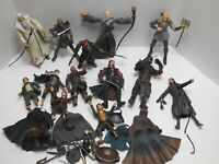 ToyBiz Lord of the Rings Action Figure lot of 13 Toys and many Accessories