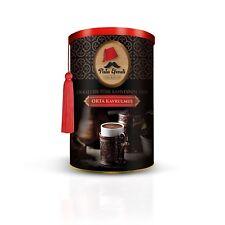Orta Kavrulmus Türk Kahvesi Türkischer Mokka Kaffee Pulver 250g