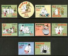 Japan 2015 82y Moomin set of 10 Fine Used