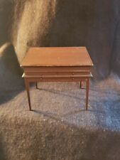 Table/desk Hand Crafted Miniature Dollhouse Signed Artist James Hastrich