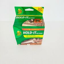 Duck Hold-It For Rugs 2.5 in. W x 25 ft. L Tape White Carpet Holder New Box