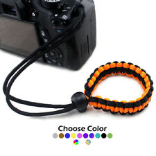 Paracord Adjustable Camera Device Wrist Strap Bracelet 550 paracord lanyard