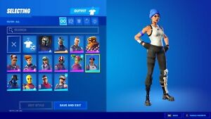 RARE Blue Team Leader Fortnite Accnts | OG Items | High Quality Cosmetics |CHEAP