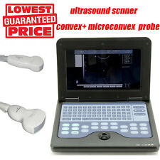 Digital Portable Ultrasound Scanner Machine Convex Cardiac Two probes Sale