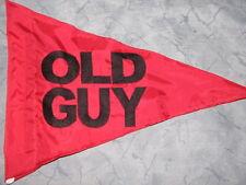 Custom Triangle OLD GUY Safety Flag  4 ATV bike trike Jeep Dune Whip Pole