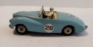 Dinky Toys 107 Sunbeam Alpine sports car, competition finish 1955-59