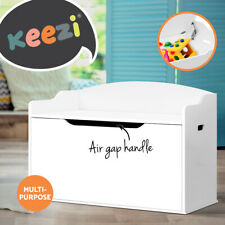 Keezi Kids Toy Box Storage Cabinet Chest Blanket Children Clothes Organiser