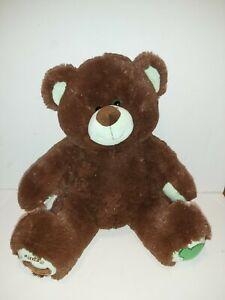 Build A Bear Girl Scouts Teddy Bear Mint Green & Chocolate Thin Mints