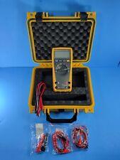 Fluke 179 Trms Multimeter Good Condition Hard Case More
