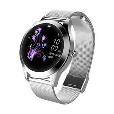 Smartwatch donna KW10 waterproof IP68 bluetooth notifiche per Android e iOS