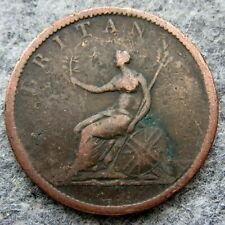 GREAT BRITAIN GEORGE III 1806 HALF 1/2 PENNY HALFPENNY
