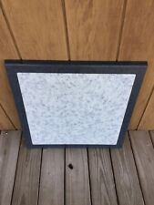 Werzalit Commercial Indoor/Outdoor Patio Table Tops 2 Toned Blue Marble Like