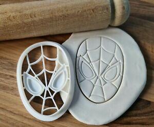 Spiderman Cookie Cutter Cake Fondant 3D Printed