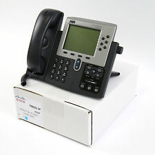 Cisco CP-7960G 7960 SIP VoIP IP Telephone Phone PoE -Lot Refurb-Warranty