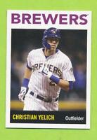 2018 Topps Throwback Thursday #TBT - Christian Yelich (#213)  Milwaukee Brewers