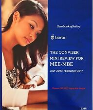 Barbri MEE-MBE (UBE) The Conviser Mini Review (CMR) 2016 ~ 2017