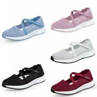 New Summer Shoes Slip on Hollow out Flats Loafers Womens Comfort Pumps Outdoor B