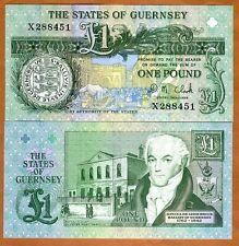Guernsey, 1 pound, ND (1991) 2016, P-52c, UNC
