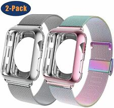 Compatible with Apple Watch Band 42mm/44mm with Case, Wristband Loop