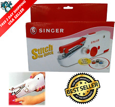 Quick Handy Held Sewing Machine Cordless Repair Singer Portable Stitch Sew Hand