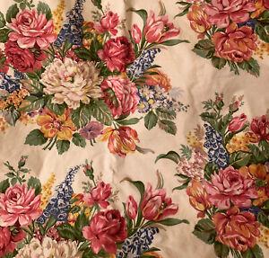 Vintage Custom Ralph Lauren Melissa Beach House Curtains Drapes 120 By 80 EUC