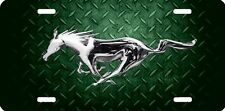 mustang horse new design Airbrushed car tag license plate 48