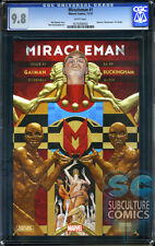 MIRACLEMAN #1 BY GAIMAN AND BUCKINGHAM - CGC 9.8 - FIRST PRINT - SOLD OUT
