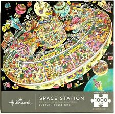 Space Station Springbok Hallmark Collection 1000pc Puzzle [Sealed] Spacestation