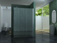 140 Walkin 10mm Glas Duschwand Duschkabine Duschabtrennung Dusche Duschtrennwand
