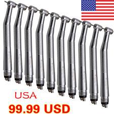 10pcs USA NSK Style Dental High Speed Handpiece Push type 4 Hole SEASKY Y1BA4-X1