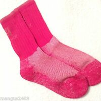 LADIES QUALITY KARRIMOR MERINO WOOL HIKING WALKING BOOT SOCKS PINK OR PURPLE 4/8