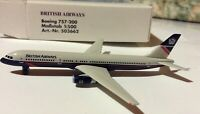 Herpa Wings British Airways 757  1:500 scale 503662
