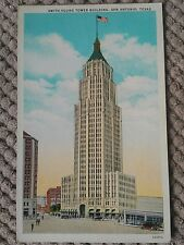 VINTAGE AMERICAN POSTCARD, SMITH YOUNG TOWER BUILDING, SAN ANTONIO, TEXAS
