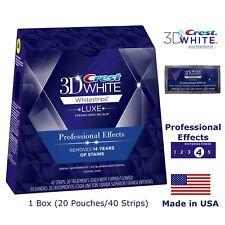 Whitestrips professional Crest40 effects zahnaufhellung 20 Beutel/40 Streifen US