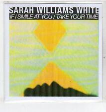 (ET326) Sarah Williams White, If I Smile At You - 2012 DJ CD