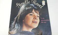 VTG GINETTE RAVEL LP, RARE!