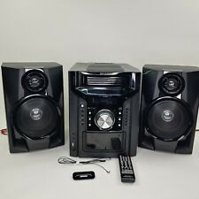 Sharp CD-DH950P Home Theater Bookshelf System w/ iPod Dock w/Remote WORKS WOW!