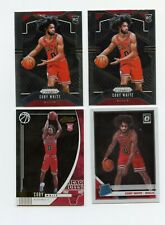 COBY WHITE RC LOT 2019-20 ABSOLUTE OPTIC PRIZM 4 CARDS ROOKIE
