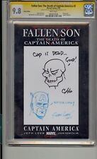 FALLEN SON DEATH OF CAPTAIN AMERICA #3 CGC 9.8 SS SIGNED & SKETCH FRANK CHO CHEN
