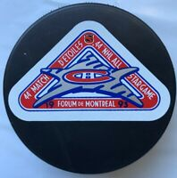 1993 Forum De Montreal 44th Match NHL ALL Star Game Hockey Puck Made In Slovakia