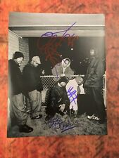 GFA Method Man RZA Raekwon x5  * WU-TANG CLAN * Signed 11x14 Photo PROOF W5 COA