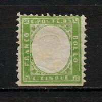 ✔️ (SKCB 137) Sardinia 1862 MNG Italy