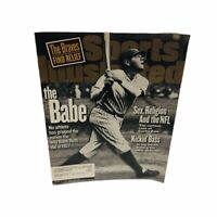 "Sports Illustrated New York Yankees ""The Babe"" August 24, 1998"