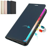 For OnePlus 8T 5G 7T Pro 6T 5T Slim Leather Magnetic Flip Wallet Card Case Cover
