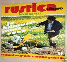 RUSTICA n°315 1976_Encadreur_Motoculteur Staub Courmont Briban Bouyer Kubota ...